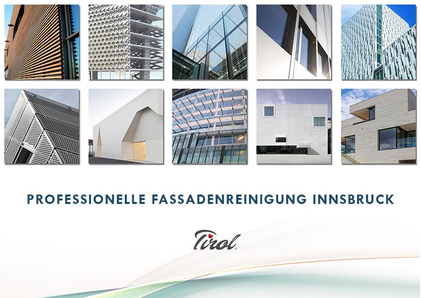 Fassadenreinigung Innsbruck