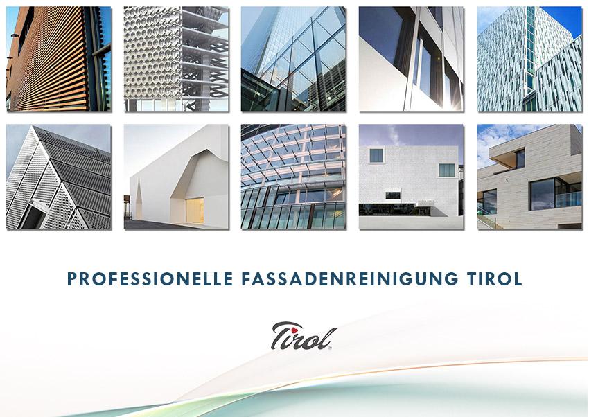 Fassadenreinigung Tirol