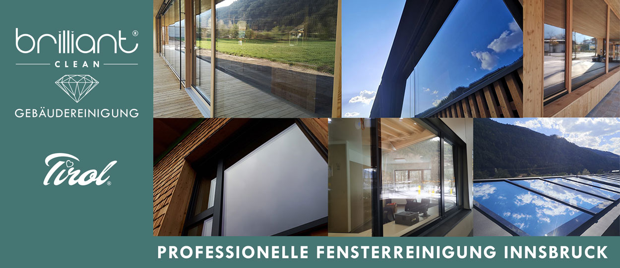 Fensterreinigung Innsbruck