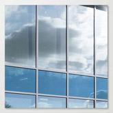 Fensterreinigung von Sonnenschutz Glas